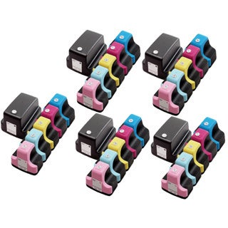 30 Pack HP 02 (5 Black, 5 Cyan, 5 Magenta, 5 Yellow, 5 Light Cyan, 5 Light Magenta ) Ink Cartridge (Pack of 30)