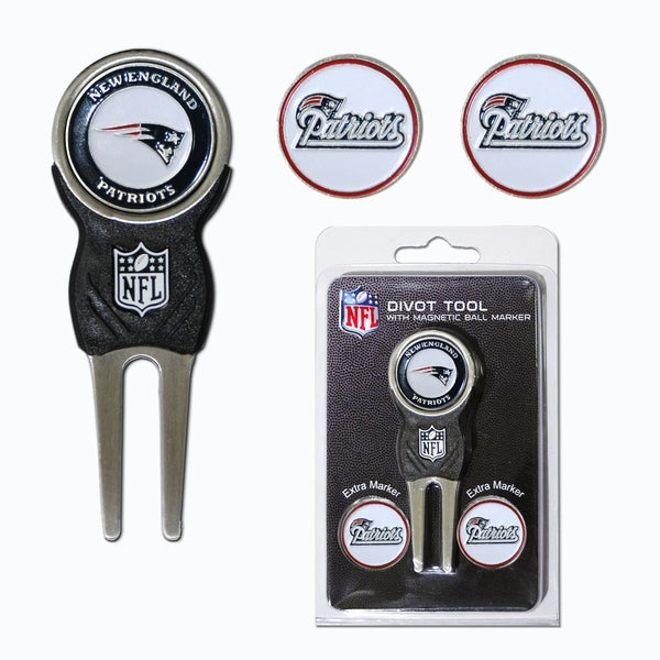 NFL New England Patriots Golf Divot Tool Pack