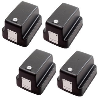 4 Pack HP 02 Black C8721WN Ink Cartridge (Pack of 4)