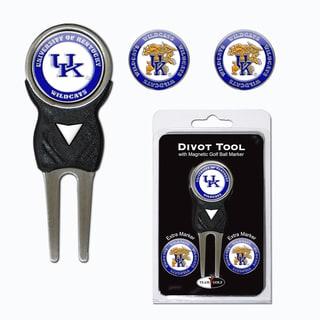 NCAA Kentucky Wildcats Golf Divot Tool Pack