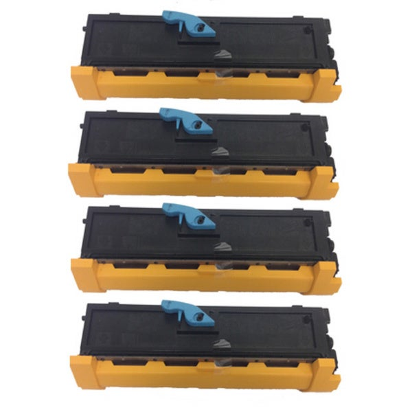 S050167 S050166 Toner Cartridge Use for Epson EPL 6200 6200L Series Printers (Pack of 4)