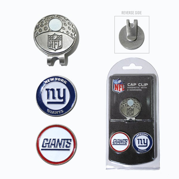 NFL New York Giants Magnetic Cap Clip and Marker Set