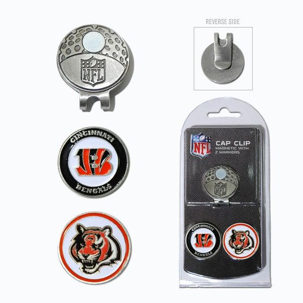NFL Cincinnati Bengals Magnetic Cap Clip and Marker Set 15715755