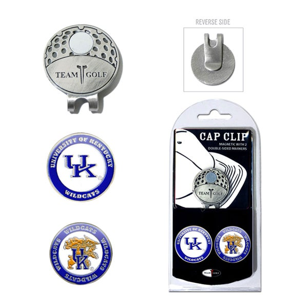 NCAA Kentucky Wildcats Magnetic Cap Clip and Marker Set 15715760