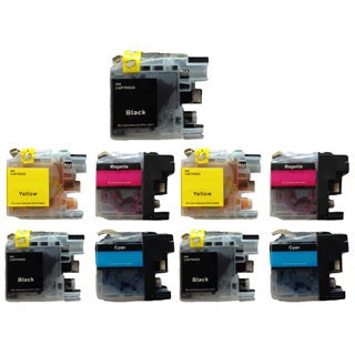 203 LC203 Ink Cartridge for Brother MFC-J4320DW MFC-J4420DW MFC-J4620DW MFC-J5520DW MFC-J5620DW MFC-J5720DW (Pack of 9)