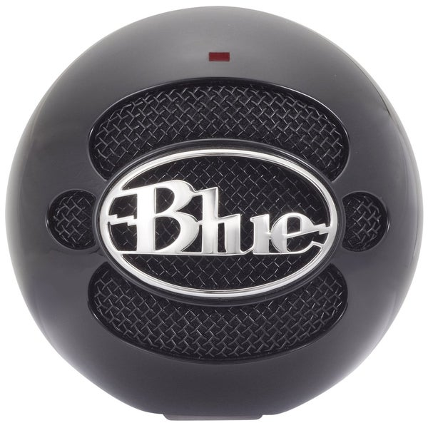 Blue Microphones SNOWBALL-GB Snowball USB Microphone (Gloss Black) - Refurbished