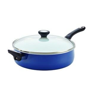 Farberware® PURECOOK(tm) Ceramic Nonstick Cookware 5-Quart Covered Jumbo Cooker with Helper Handle