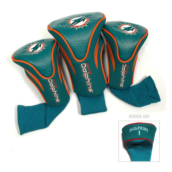 NFL Miami Dolphins Contour Wood Headcover Set 15715857