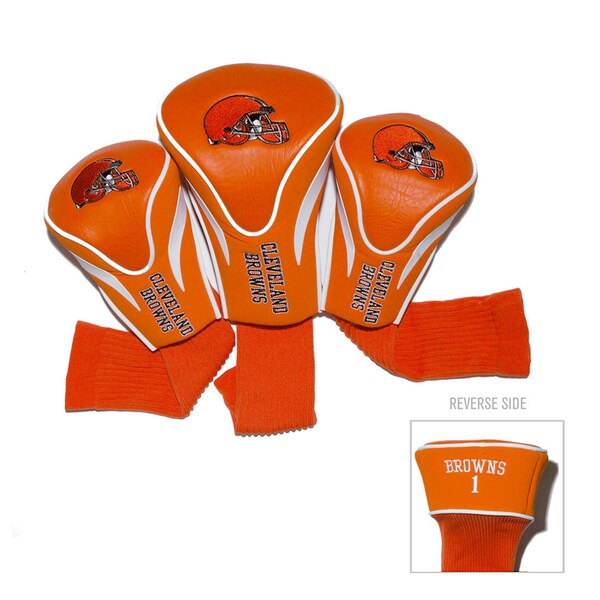 NFL Cleveland Browns Contour Wood Headcover Set