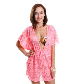Hadari Women's Crochet Cover-Up