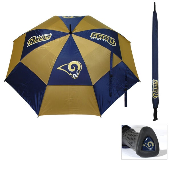 NFL St Louis Rams 62-inch Double Canopy Golf Umbrella
