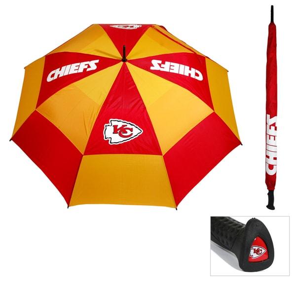 Kansas City Chiefs 62-inch Double Canopy Golf Umbrella