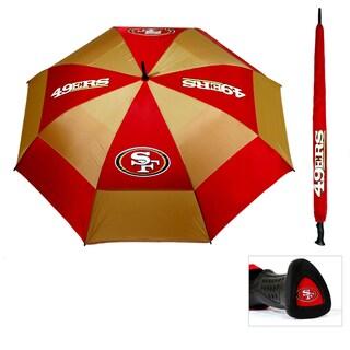 San Francisco 49ers 62-inch Double Canopy Golf Umbrella