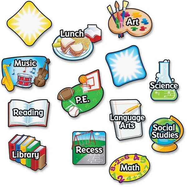 Learning Resources Magnetic Subject Labels (Set of 13)