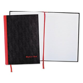 Black n' Red Ruled Casebound Notebook Plus Pack (Pack of 2)