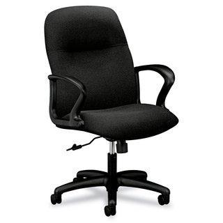 HON Gamut Series Black Managerial Mid-Back Swivel/Tilt Chair