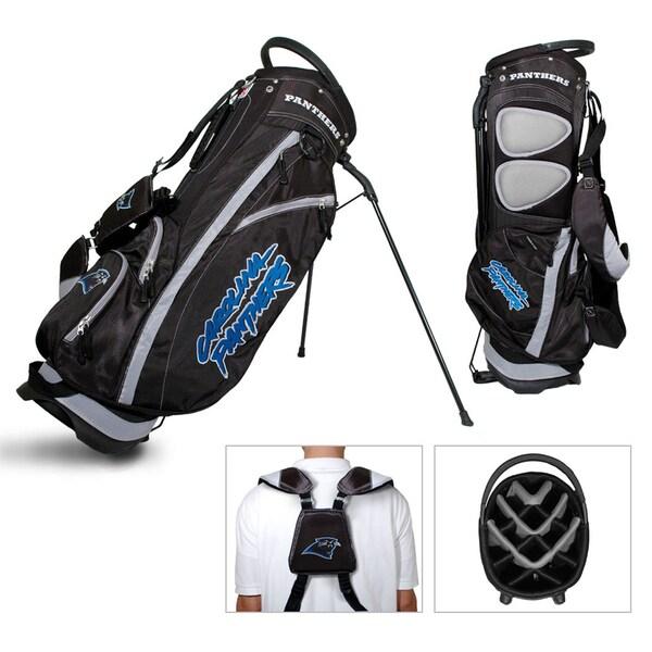 Carolina Panthers NFL Fairway Stand Golf Bag