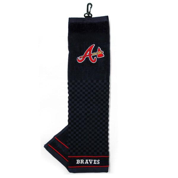 MLB Atlanta Braves Embroidered Golf Towel