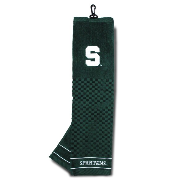 NCAA Michigan State Spartans Embroidered Golf Towel 15716386