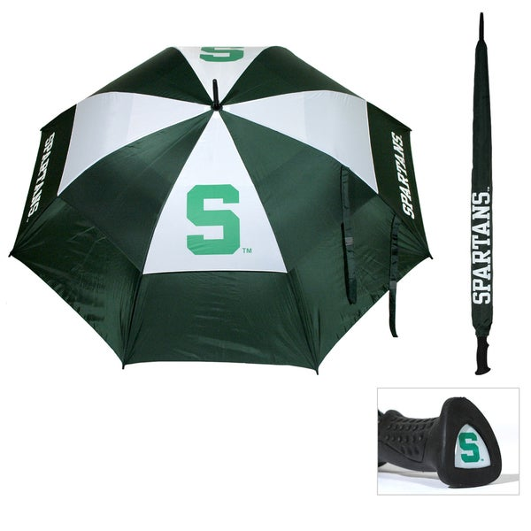 Michigan State 62-inch Double Canopy Golf Umbrella