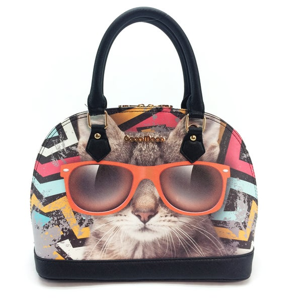My Name Is Cat Cat Good Mood Handbag