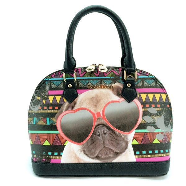 My Name Is Dom Dog Good Mood Handbag