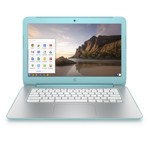 HP 14-x030nr 14-Inch Chromebook Laptop Computer (Ocean Turquoise) - Factory Refurbished