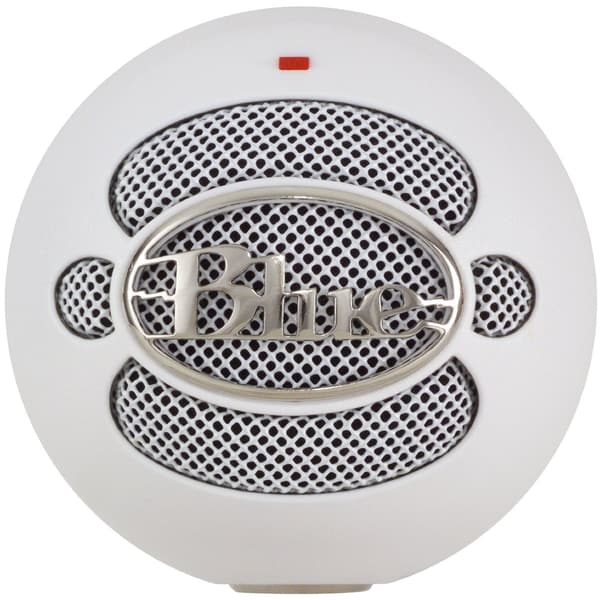 Blue Microphones Snowball USB Microphone (Textured White) - Refurbished
