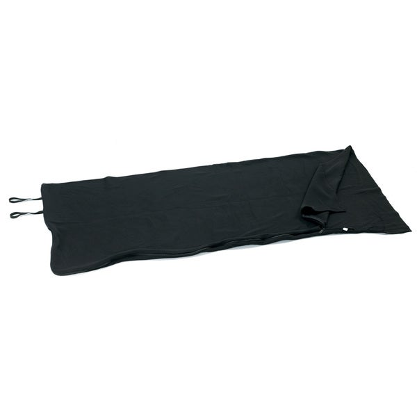 Tex Sport Fleece Sleeping Bag Black