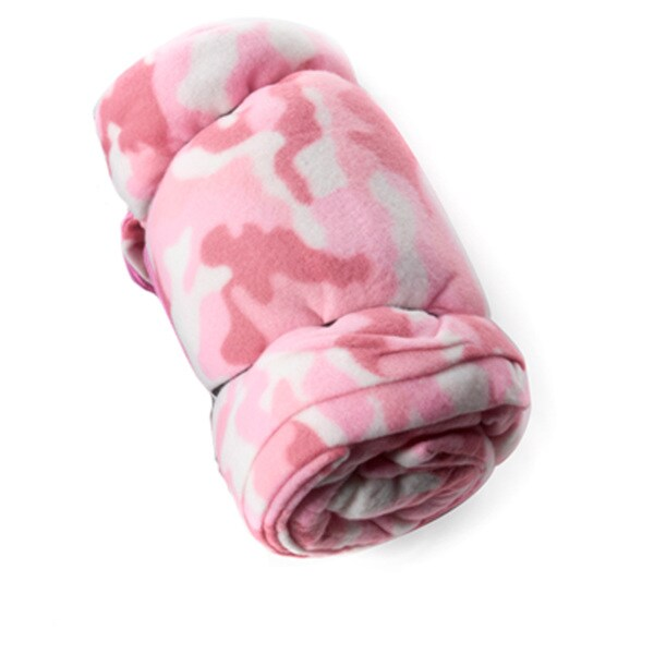 Tex Sport Fleece Sleeping Bag Pink