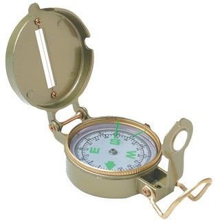 Tex Sport Compass Metal Lensatic