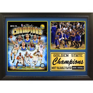 12x18 Photo Stat Frame - 2015 NBA Champions Golden St. Warriors