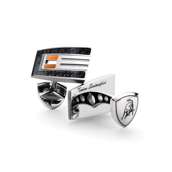 Tonino Lamborghini Corsa Orange Cufflinks