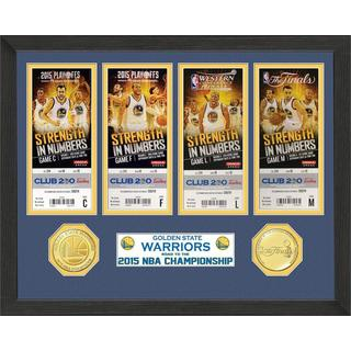 Golden State Warriors 2015 NBA Finals Champions Ticket Collection