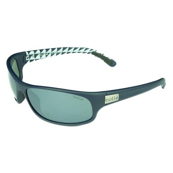 Bolle Anaconda Matte Blue Polarized Sport Sunglasses
