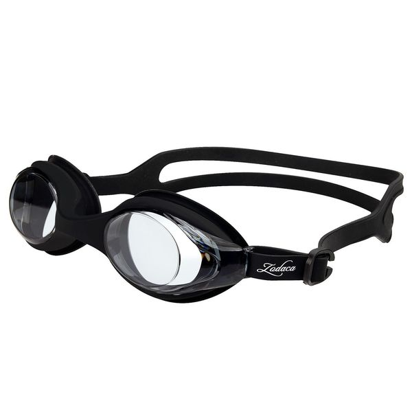 Zodaca Black Water Sports Exercise Anti UV Non-Fogging Swimming Goggles Glasses for Kid