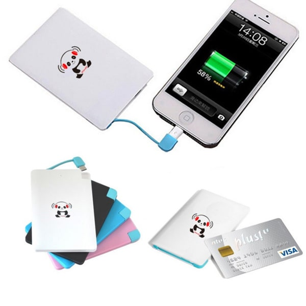 iPanda 2,200mAh Credit Card Size Universal Portable Charger