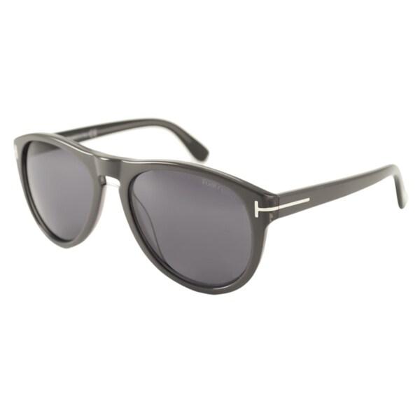 Tom Ford Mens TF0347 Kurt Aviator Sunglasses