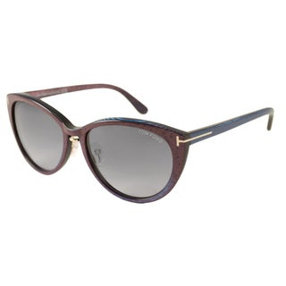 Tom Ford Womens TF0345 Gina Cat-Eye Sunglasses