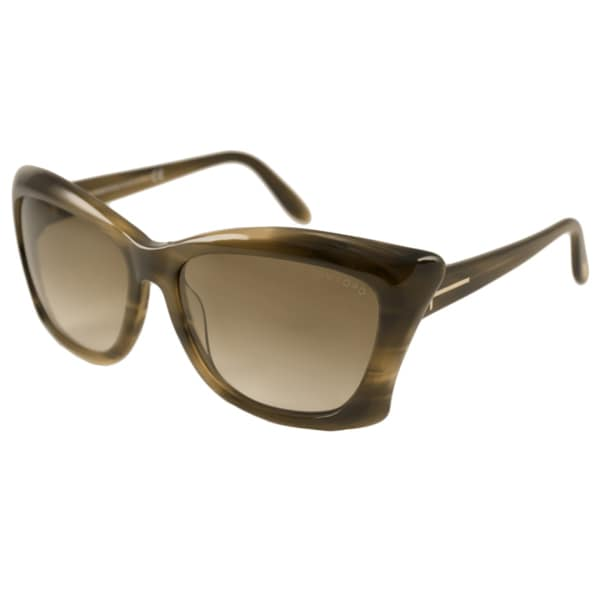 Tom Ford Womens TF0280 Lana Rectangular Sunglasses