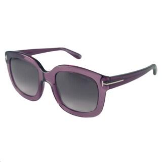 Tom Ford Womens TF0279 Christophe Rectangular Sunglasses