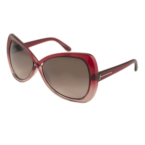 Tom Ford Womens TF0277 Jade Oversize Sunglasses