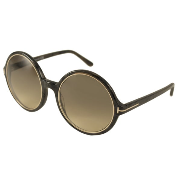 Tom Ford Womens TF0268 Carrie Round Sunglasses