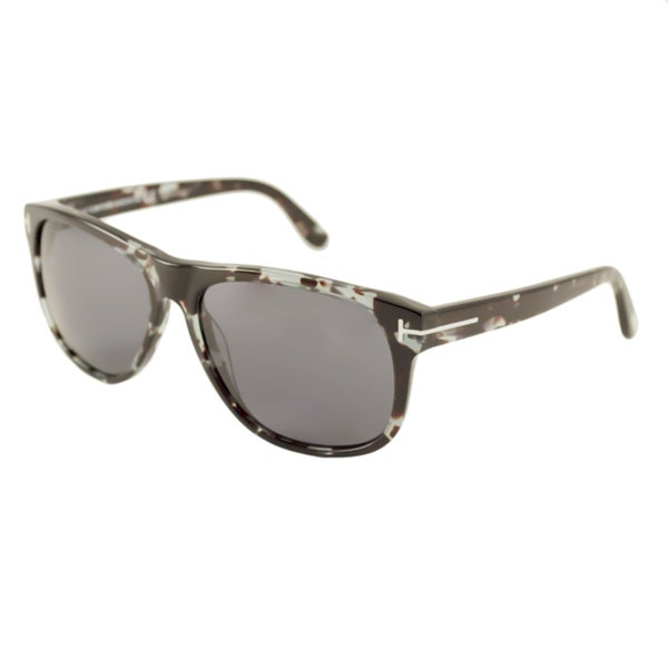 Tom Ford Mens TF0236 Olivier Rectangular Sunglasses