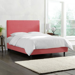 Upholstered Bed in Linen Roseus