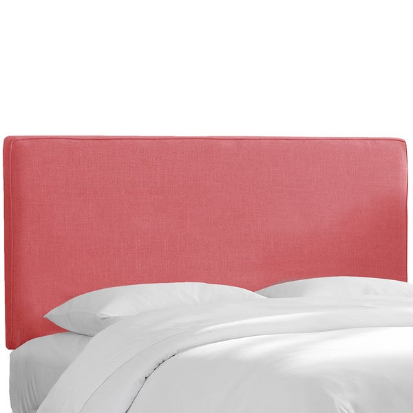 Upholstered Headboard in Linen Roseus
