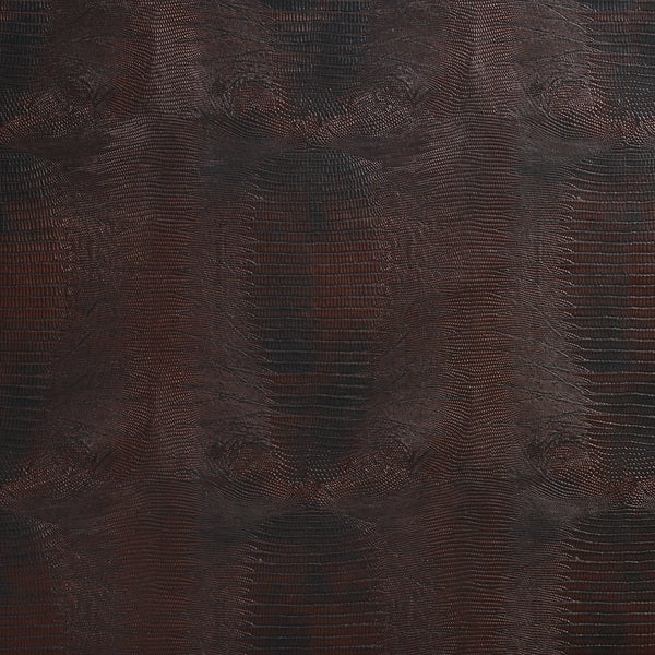 G012 Burgundy Red, Textured Alligator Faux Leather Upholstery Vinyl By The Yard