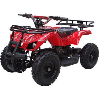 MotoTec 24v Mini Quad v4 Red