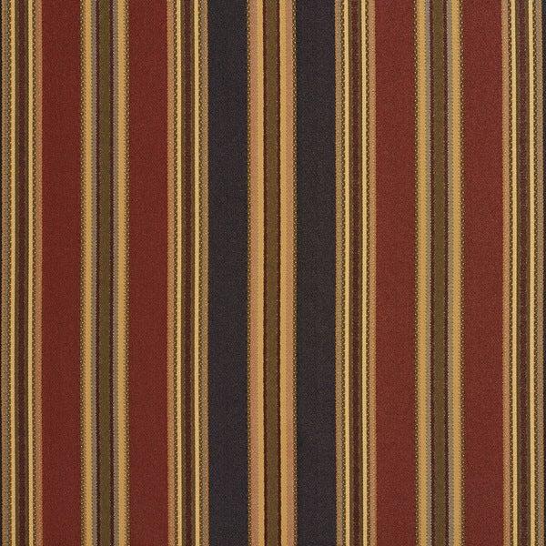 B0190d Black Green Burgundy Striped Silk Look Upholstery Fabric By The Yard