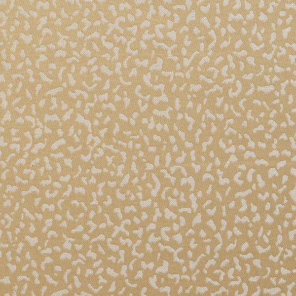 B0040f Beige Two Shaded Spots Upholstery Fabric By The Yard